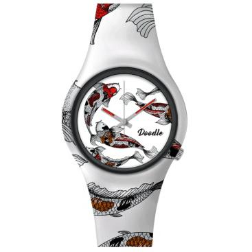doodle watch caro koi red stl