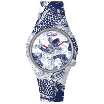 doodle watch caro koi blue stl