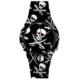 Doodle Watch Pirate Skulls Nero STL