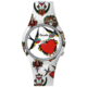 Doodle Watch Swallows & Hearts STL