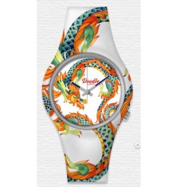 doodle watch white dragon stl
