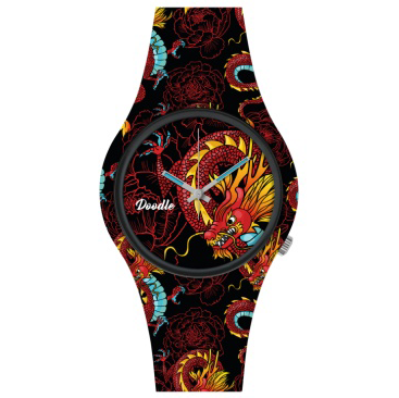doodle watch red dragon stl