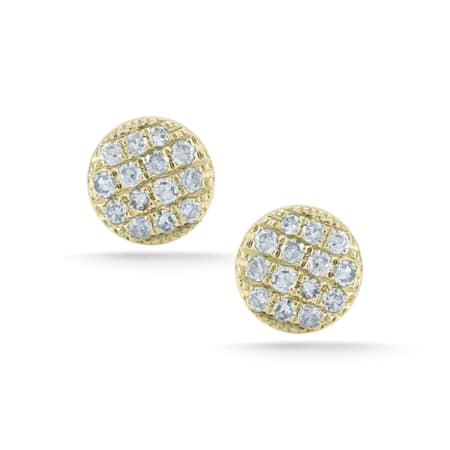 Earrings - Yellow Gold - 0.14 Ct.
