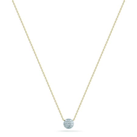 Necklace - Yellow Gold - 0.07 Ct.